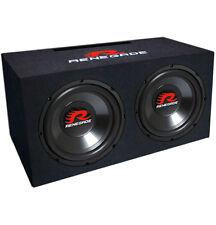 ★ Renegade RXV 1002 2x25cm Dual Woofer Bassreflex Box Gehäusesubwoofer Subwoofer