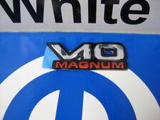 Dodge Ram V10 Magnum Decal Emblem Name Plate Mopar Oem