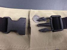 Trouser/Pant belt 25mm webbing belt with quick release buckle. Hiking walking