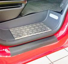 BARRE entry-level per VW Caddy 4 protezione bordi spazzolato alunox ®