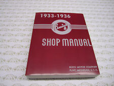 1933, 1934, 1935, 1936 Buick Shop Manual. Roadmaster Special Century Limited