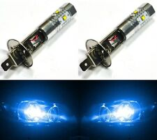 LED 30W H1 Blue 10000K Two Bulbs Head Light Replacement Show Use High Beam