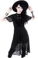 Restyle Gothic Clothing Sold Out Black Dahlia Dress Sz Large