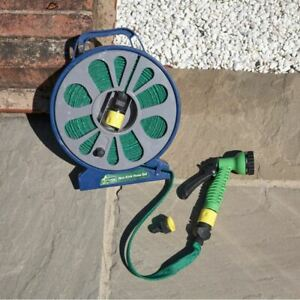 High Quality 50ft Flat Garden Hose Pipe Outdoor Watering 15m