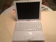 Apple iBook G4 12 Zoll 800MHZ 30GB HDD 348MB RAM, OS X 10.4.11 Sammler