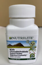 AMWAY Nutrilite 30 KIDS CHEWABLE PROBIOTIC Healthy Digestion & Immunity