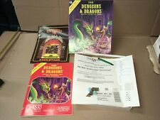 BASIC SET DUNGEONS & DRAGONS DUNGEON TSR FANTASY ADVENTURE GAME