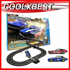 NEW SCALEXTRIC AMERICAN CLASSICS CAMERO v MUSTANG ARC ONE APP RACE SET C1362