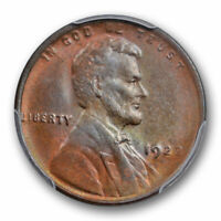 1922 D 1C Weak D Lincoln Wheat Cent PCGS MS 63 BN Uncirculated CAC Approved