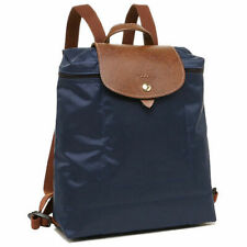 NEW Authentic Longchamp Le Pliage Club Backpack with Horse Embroidery Large