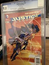 Justice League # 12 CGC 9.8 The New 52 DC Comics 2012