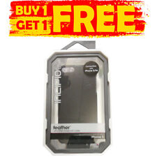 INCIPIO Feather Ultra-thin Snap-on Black Case iPhone 5/5S/SE - BUY 1 GET 1 FREE