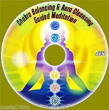 GUIDED MEDITATION CHAKRA ALIGNMENT BALANCING & AURA CLEANSING CD NEW HEALTH HELP