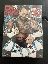 WWE: CM Punk - Best in the World (DVD, 2012, 3-Disc Set) New Sealed