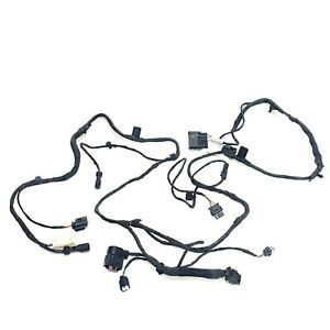 OEM BMW 5' & 7-Series G30 G31 G11 G12 - Front End Support Wiring Harness w CAM