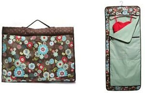 Thirty One Garment Bag Floral Fanfare retired luggage large new