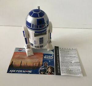 Star Wars EP1 R2-D2 CLOCK with Alarm, Date & Time - Projects Image