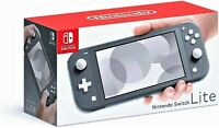 NINTENDO SWITCH LITE ~ GRAY Handheld Video Game Console Grey USA Model ~ NEW