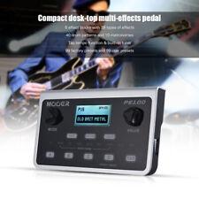 MOOER PE100 Portable Multi-effects Processor Guitar Effect Pedal 39 Effects O7I8