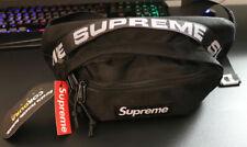Supreme SS18 Black Waist Bag Fanny Pack Cordura