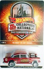 HOT WHEELS 17TH ANNUAL COLLECTORS NATIONALS '55 CHEVY BEL AIR GASSER