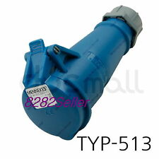 3P+N+G Type 14137P plug receptacle cord end set Mennekes PowerTop Xtra 63A-5h