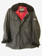 Barbour Women's International Rain Jacket - Light Weight Waxed - Medium