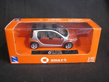 New Ray Smart Forfour 1:43 Brown / Silver (JS)