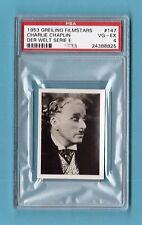 Charlie Chaplin 1953 Greiling Film Star Card #147 PSA 4 VG-EX