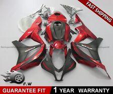 PAINTED MOLDED Red Black For Honda CBR600RR 2007-2008 ABS Fairing kit Bodywork