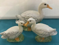 Vintage Ceramic Mama Duck And Babies