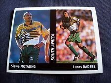 Figurina Ds Sticker France 98 n°138 MOTAUNG-RADEBE SOUTH AFRICA World Cup