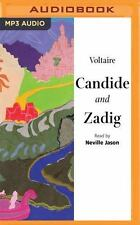Candide and Zadig by Voltaire and Margaret Cho (2016, MP3 CD, Unabridged)