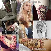 Temporary Tattoo Sticker Removable Waterproof 3D Fake Body Art 21 x 15 cm