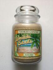 Yankee Candle ALOHA COLLECTION  WAIKIKI SANDS 22 oz JAR RETIRED HTF HAWAII