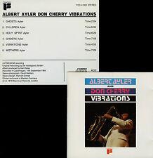 ALBERT AYLER - DON CHERRY  vibrations