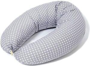Cuscino Allattamento e Cuscino Gravidanza per Dormire, misura XXL, 100% Cotone