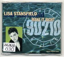 LISA STANSFIELD MAXI-CD Make it right-German 5-TRACK CD - 90210 Beverly Hills