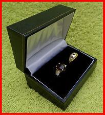 Jewellery Presentation Box, Double Ring, Leatherette Range, Gift, Weddings, New