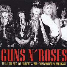 Guns N' Roses - Live At The Ritz, NYC February 2 1988 LP NEW SEALED FM BROADCAST