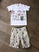 Oilily Boys Shorts & Tee Age 6 7 8 Outfit