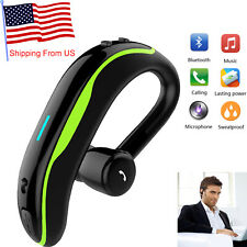 Bluetooth Headset Wireless Earphones Hands Free Noise Cancelling Earbud with Mic
