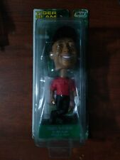 2002 TIGER WOODS Slam PlayMakers 2000 US Open Bobbing Head Doll & Card