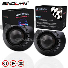 For BMW 3 Series E46 Halogen Headlight 2.5 inch MH1 HID Bi-xenon Projector Lens
