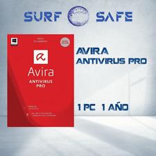 Avira Antivirus Pro 2020 1-PC 1- año Win y Mac, Clave Global, Multilenguaje