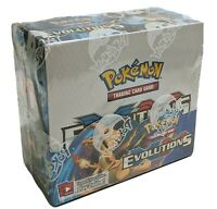Pokemon XY Evolutions Booster Box Factory Sealed Unopened ERROR Extremely Rare
