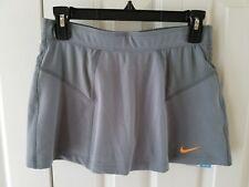 Nike Women's Novelty Knit Skirt Canyon Grey/Orange 523548-065