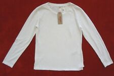 Levis camiseta mujer talla XS blanco roto Sólido camiseta de manga larga