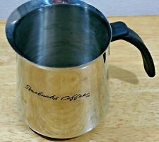 Starbucks Coffee Stainless Steel Barista Milk Frothing Pitcher 2000