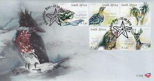 South Africa 2010 Richtersveld Cultural And Botanical Landscape Bird (stamp FDC)